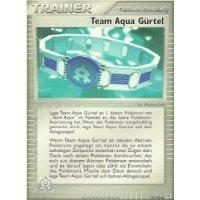 Team Aqua Gürtel