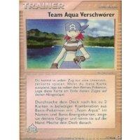 Team Aqua Verschwörer REVERSE HOLO
