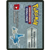Pokemon Online Code-Karte Latios