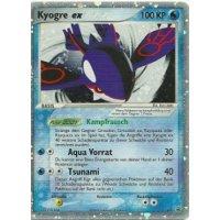 Kyogre ex PROMO 037 HOLO