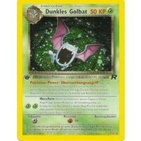 Dunkles Golbat HOLO 1. Edition