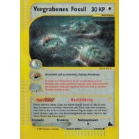 Vergrabenes Fossil REVERSE HOLO