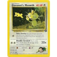 Giovannis Meowth 43/132 1. Edition