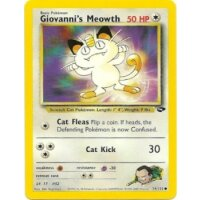Giovannis Meowth 74/132 1. Edition