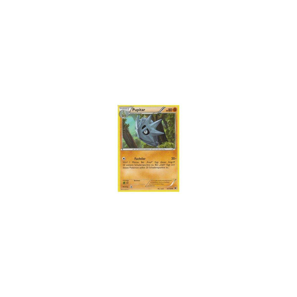 Pokemon XY Schicksalsschmiede 42//124 Pupitar