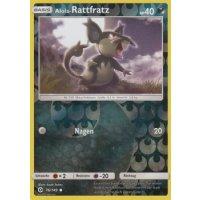 Alola-Rattfratz 76/149 REVERSE HOLO