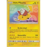 Ashs Pikachu SM108 PROMO