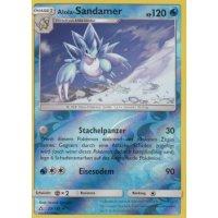 Alola-Sandamer 29/156 REVERSE HOLO