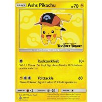 Ashs Pikachu SM111 PROMO