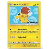 Ashs Pikachu SM113 PROMO