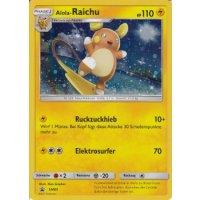 Alola-Raichu SM65 HOLO OVERSIZED/ÜBERGROß