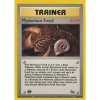 Mysterious Fossil 62/62 1. Edition (english)