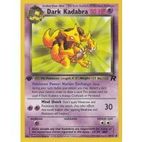 Dark Kadabra 39/82 1. Edition (english)