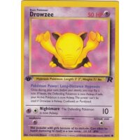 Drowzee 54/82 1. Edition (english)