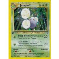 Jumpluff 7/111 1. Edition (english) HOLO