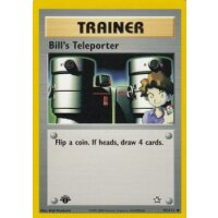 Bills Teleporter 91/111 1. Edition (english)