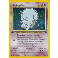 Wobbuffet 16/75 1. Edition (english) HOLO