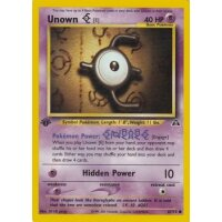 Unown E 67/75 1. Edition (english)