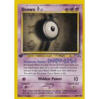 Unown I 68/75 1. Edition (english)