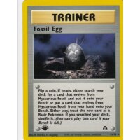 Fossil Egg 72/75 1. Edition (english)
