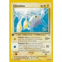 Chinchou 42/64 1. Edition (english)