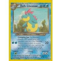 Dark Croconaw 32/105 BESPIELT