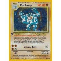 Machamp 8/102 1. Edition (english) HOLO BESPIELT