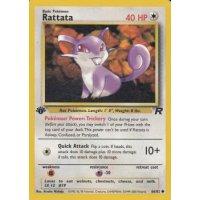 Rattata 66/82 1. Edition (english) BESPIELT