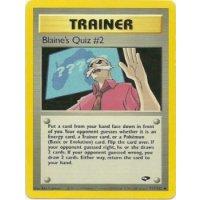 Blaines Quiz #2 111/132 BESPIELT