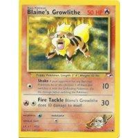 Blaines Growlithe 35/132 BESPIELT
