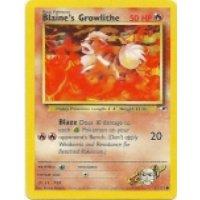 Blaines Growlithe 62/132 BESPIELT