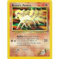 Blaines Ponyta 63/132 BESPIELT