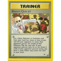 Blaines Quiz #1 97/132 BESPIELT