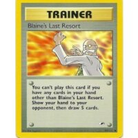 Blaines Last Resort 105/132 BESPIELT