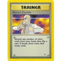 Blaines Gamble 121/132 BESPIELT