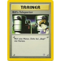 Bills Teleporter 91/111 BESPIELT