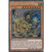 Gelber Drachen-Ninja