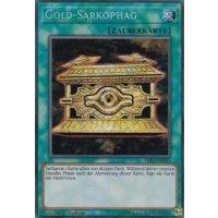 Gold-Sarkophag