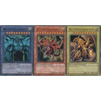 Legendary Collection 1 - Ägyptische Götterkarten Set: Ra, Obelisk und Slifer
