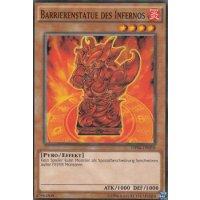 Barrierenstatue des Infernos