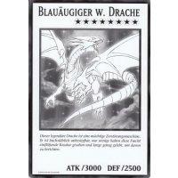 Blauäugiger w. Drache (XXL Jumbo-Karte)