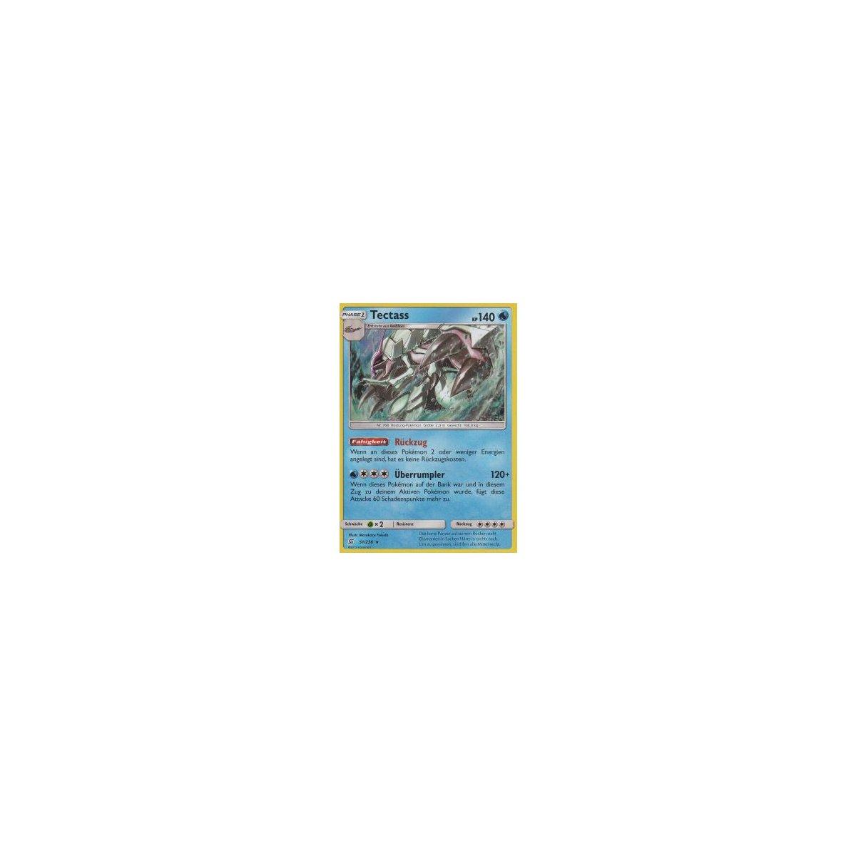 Tectass Holo 51//236 Pokemon Boosterfrisch Bund der Gleichgesinnten