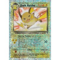 Dark Raichu 07/110 REVERSE HOLO