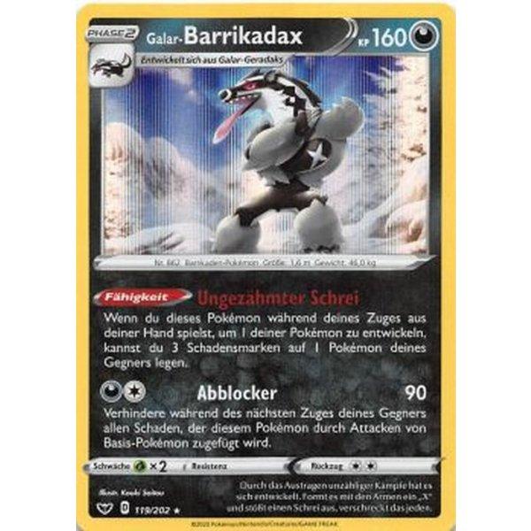 Galar-Barrikadax 119/202 HOLO