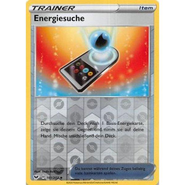 Reverse Holo Schwert /& Schild 1 Pokemon 161//202 Energiesuche