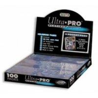 10 Seiten Ultra Pro 9-Pocket Pages Platinum