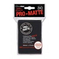 Ultra Pro Sleeves Pro-Matte Non-Glare: Black / Schwarz (50 Hüllen)