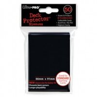 Ultra Pro Sleeves Black (50 Hüllen)