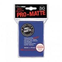 Ultra Pro Sleeves Pro-Matte Non-Glare: Blue (50 Hüllen)
