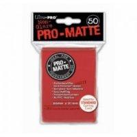 Ultra Pro Sleeves Pro-Matte Non-Glare: Red (50 Hüllen)
